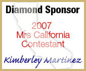 2007 Mrs California Contestant Diamond Sponsor