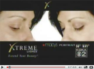 Watch Xtreme Lashes trained Lash Stylist Jodi Wray