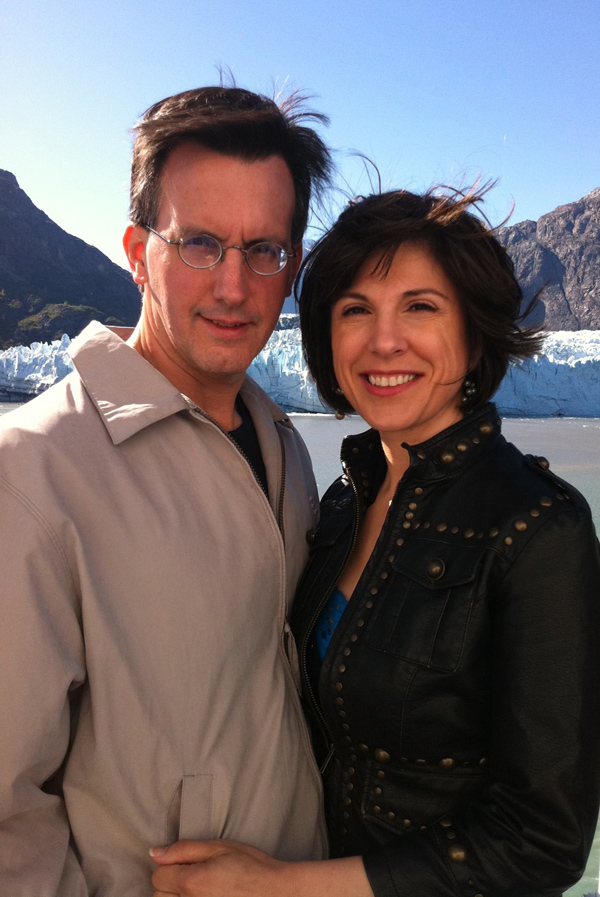 Jo Mousselli and Martin Dale In Alaska