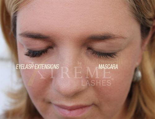 Lash Extensions and Mascara Compared