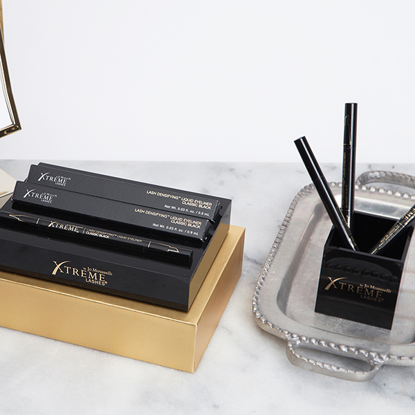 An easy way to display makeup, cosmetics, and skincare is to use Xtreme Lashes Display Blocks.