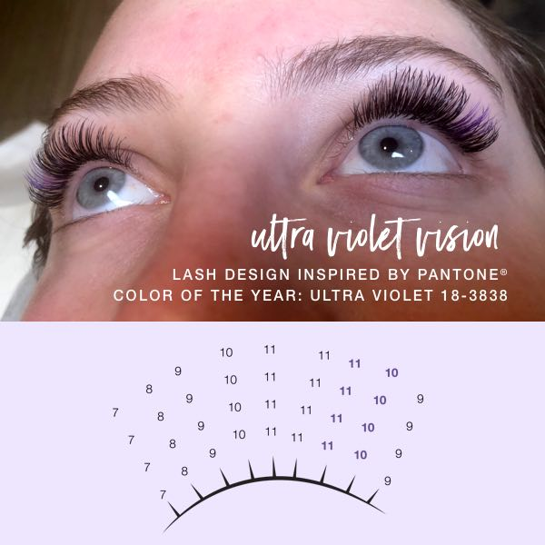 Xtreme Lashes and Pantone 2018 Color of the Year