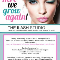 Here we grow again! Calling all aspiring Xtreme Lashes lash specialists!