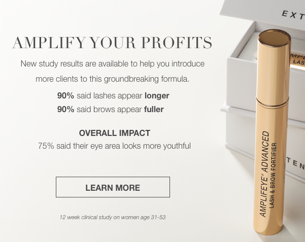 Amplify your Profits with Amplifeye Advanced Lash and Brow Fortifier