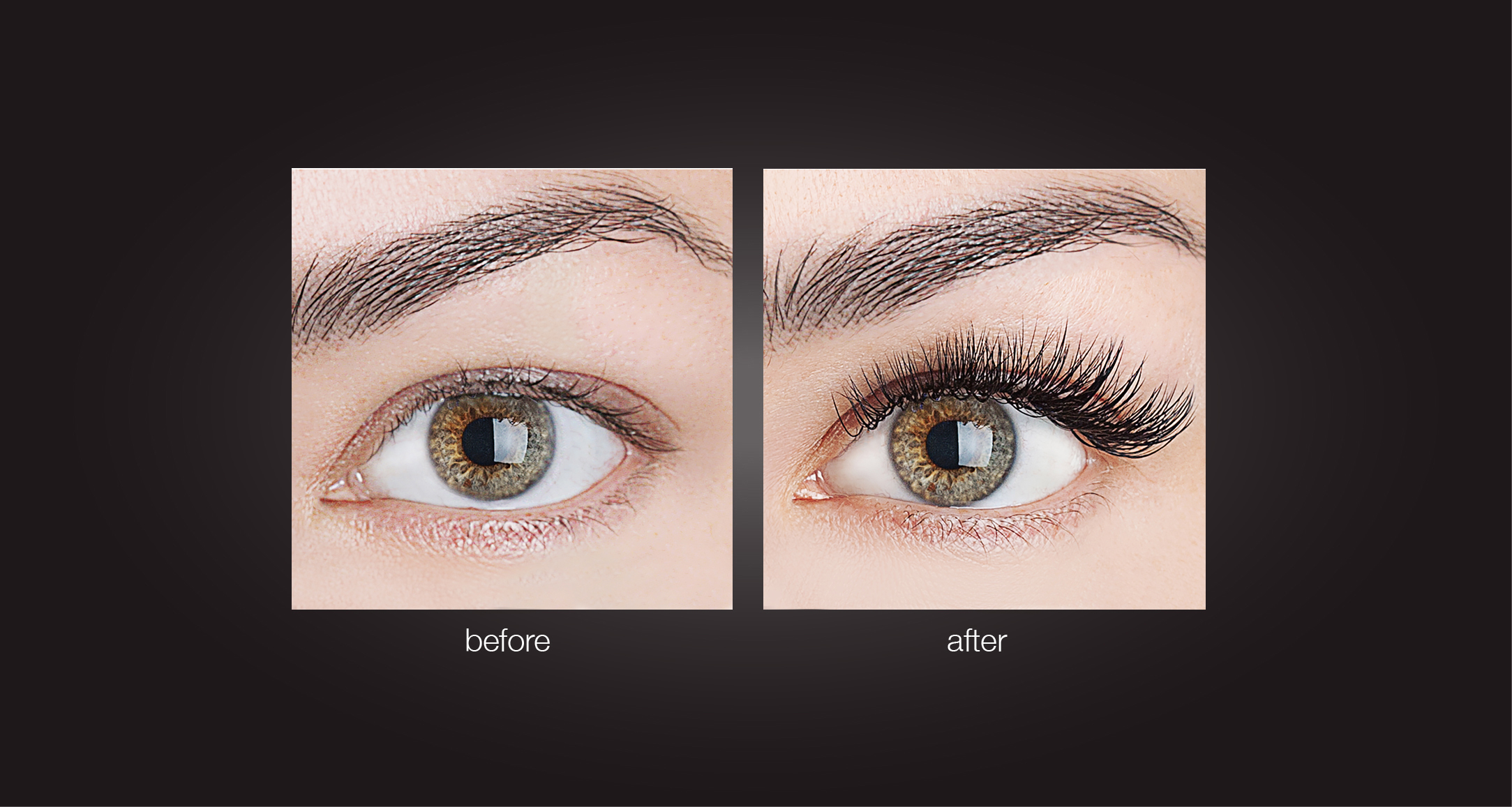Eyelash Extensions Before After Natural 00.9