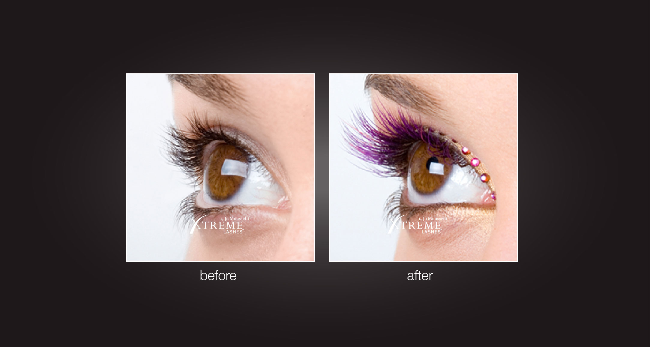 Eyelash Extensions Before After Xtreme 10