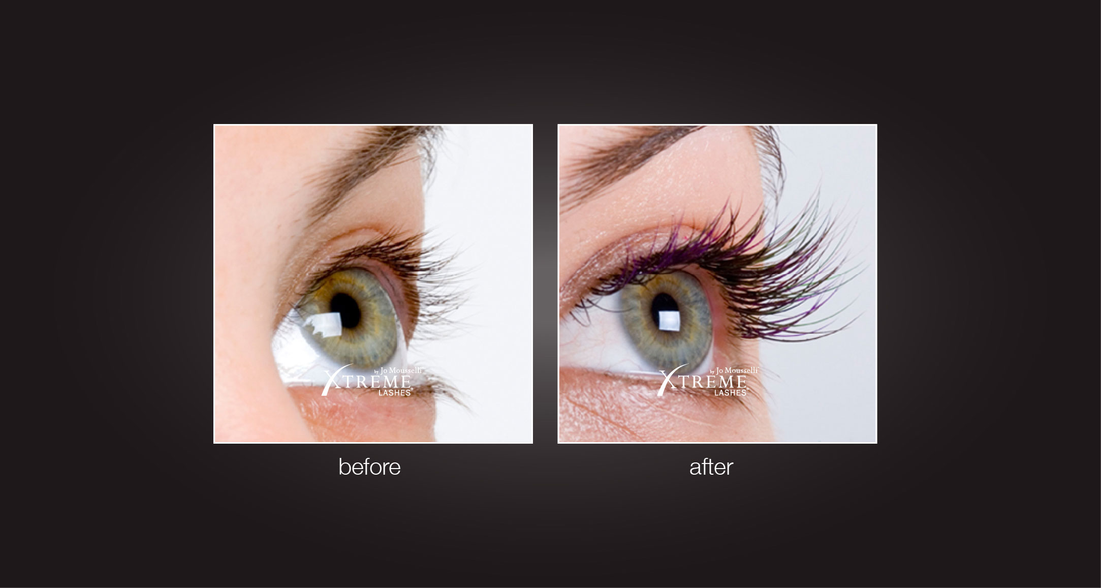 Eyelash Extensions Before and After Photos