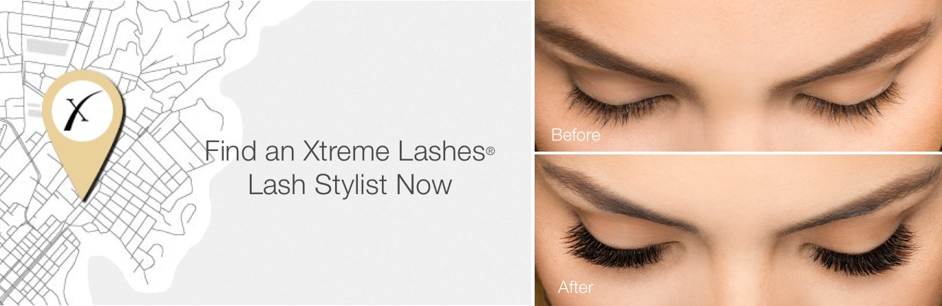 Find an Xtreme Lashes Lash Stylist Now