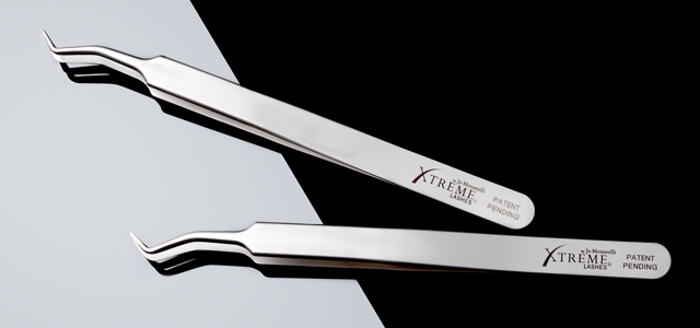 Eyelash Extension Tweezers. The ProComfort Z-Curve Tweezer by Xtreme Lashes