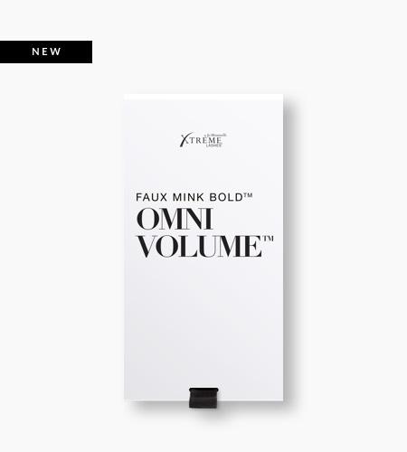 Faux Mink Bold™ Omni Volume™ Black X35®: 0.05 mm diameter | 6-8 mm multi-length
