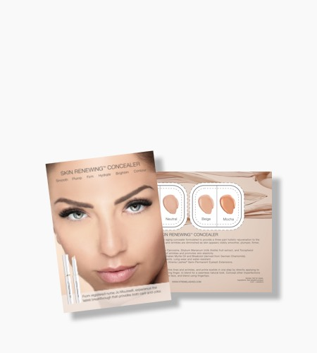 Skin Renewing Concealer Tester Cards - 4 Shades (10 pack)