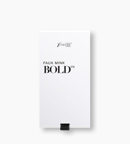 Faux Mink Bold™ Black X90®: 0.03 mm diameter | 15-17 mm multi-length