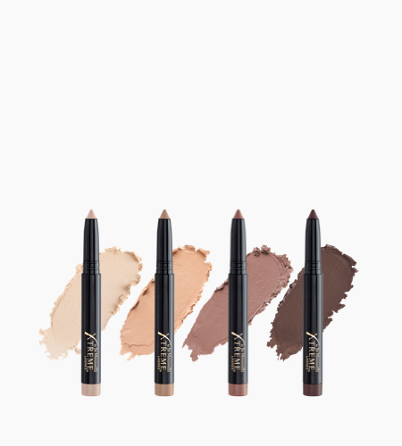 GlideShadow™ Quad Collection - Matte Neutrals