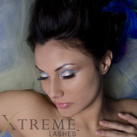 Xtreme Lashes Eyelash Extensions Applied