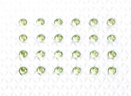 Peridot Individual Body Art Crystals