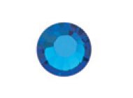 Capri Blue Flat Back 1.9mm stone