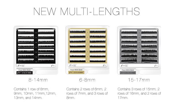 Faux Mink Bold Multi Length