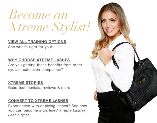 eyelash extension training options | xtreme lashes