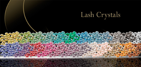 eyelash extension crystals