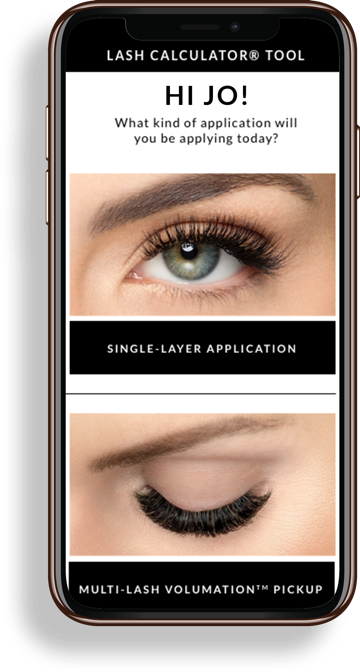 Xtreme Lashes Lash Calculator Tool